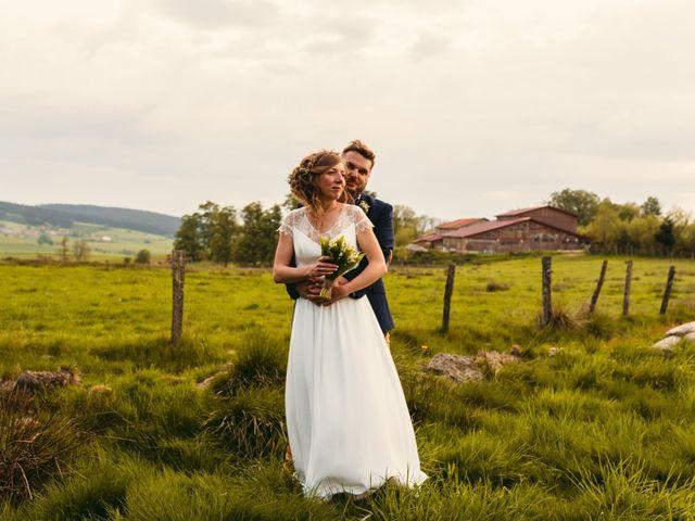 Le mariage de Thomas et Claire à Saint-Genest-Malifaux, Loire 8