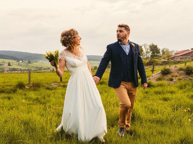 Le mariage de Thomas et Claire à Saint-Genest-Malifaux, Loire 9