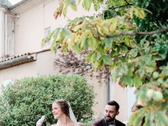 Le mariage de Jean-Christophe et Wanda à Le Thor, Vaucluse 18
