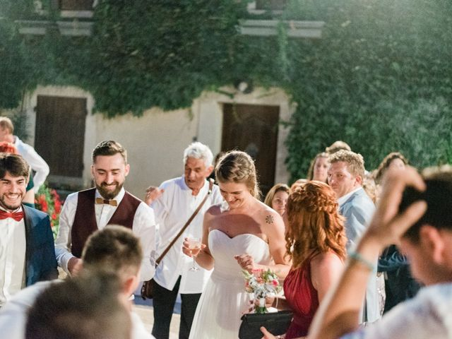 Le mariage de Jean-Christophe et Wanda à Le Thor, Vaucluse 63