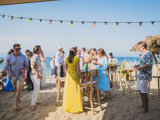 Le mariage de Ed Double et Poppy à Saint-Tropez, Var 9