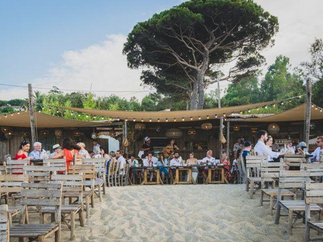 Le mariage de Ed Double et Poppy à Saint-Tropez, Var 12