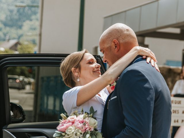 Le mariage de Pierre et Céline à Doussard, Haute-Savoie 14