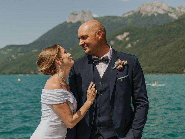 Le mariage de Pierre et Céline à Doussard, Haute-Savoie 26