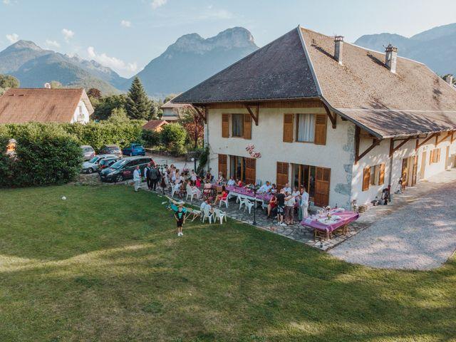 Le mariage de Pierre et Céline à Doussard, Haute-Savoie 48