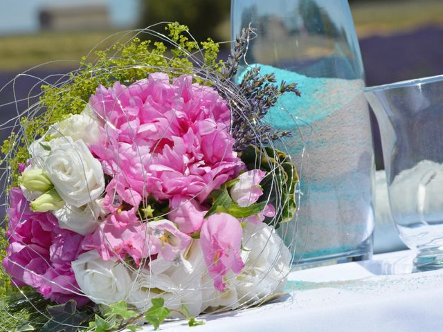 Le mariage de Vincent et Marine à Valensole, Alpes-de-Haute-Provence 8