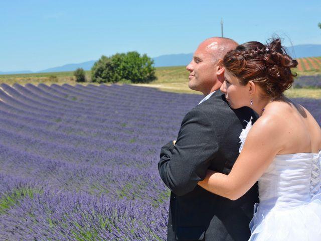 Le mariage de Vincent et Marine à Valensole, Alpes-de-Haute-Provence 13