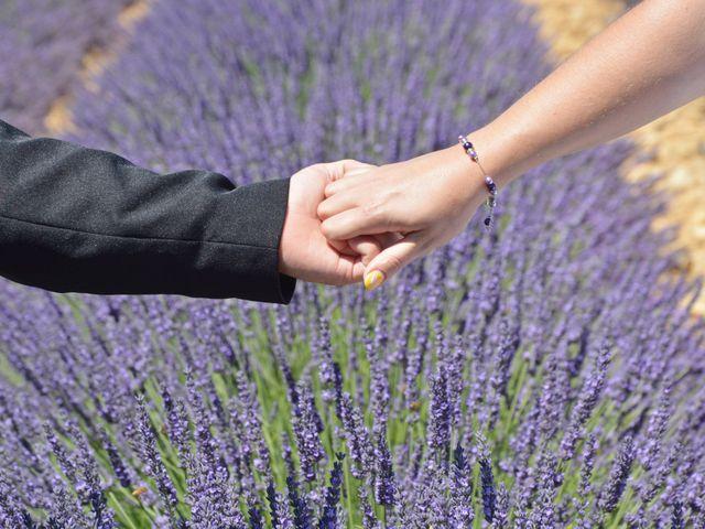 Le mariage de Vincent et Marine à Valensole, Alpes-de-Haute-Provence 14