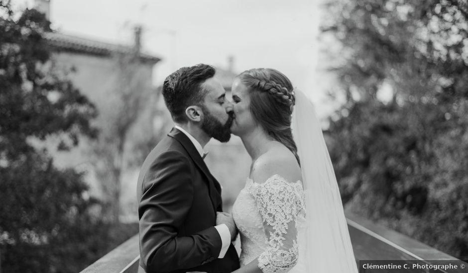 Le mariage de Jean-Christophe et Wanda à Le Thor, Vaucluse