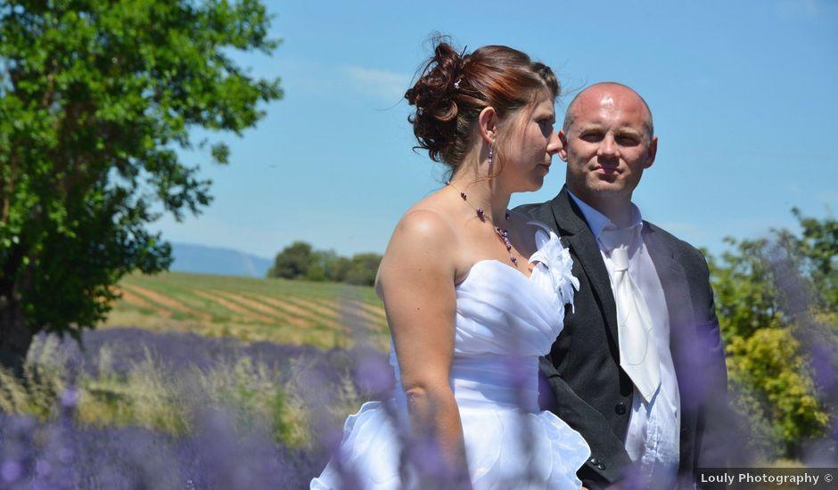 Le mariage de Vincent et Marine à Valensole, Alpes-de-Haute-Provence