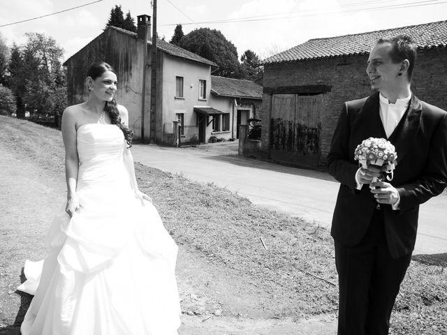 Le mariage de Ariane et Damien à Saint-Symphorien-sur-Couze, Haute-Vienne 12