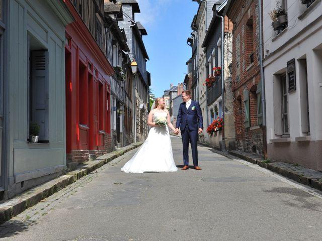 Le mariage de Léon et Aline à Honfleur, Calvados 6
