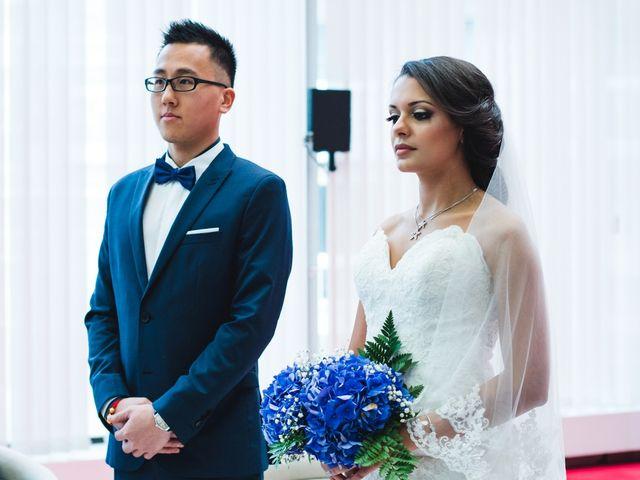 Le mariage de Huynh et Feriel à Créteil, Val-de-Marne 63