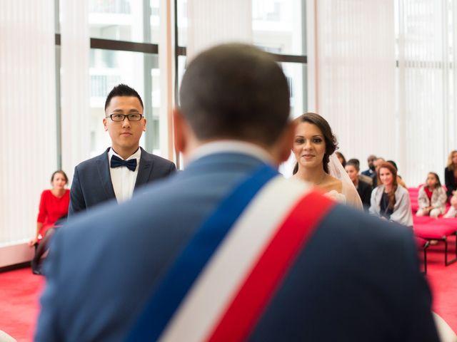 Le mariage de Huynh et Feriel à Créteil, Val-de-Marne 64