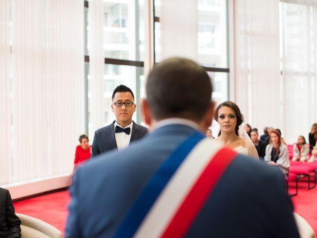 Le mariage de Huynh et Feriel à Créteil, Val-de-Marne 66
