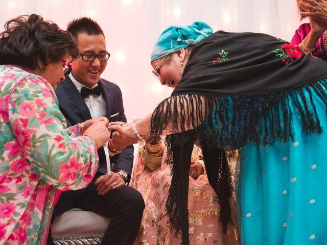 Le mariage de Huynh et Feriel à Créteil, Val-de-Marne 130