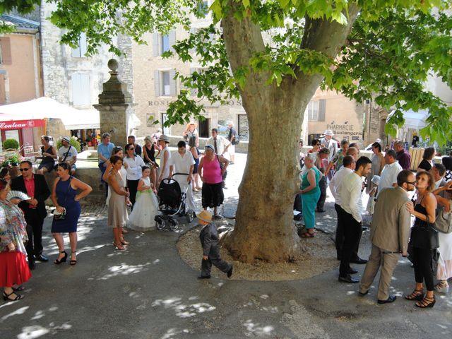Le mariage de Guillaume et Lucie à Gordes, Vaucluse 34