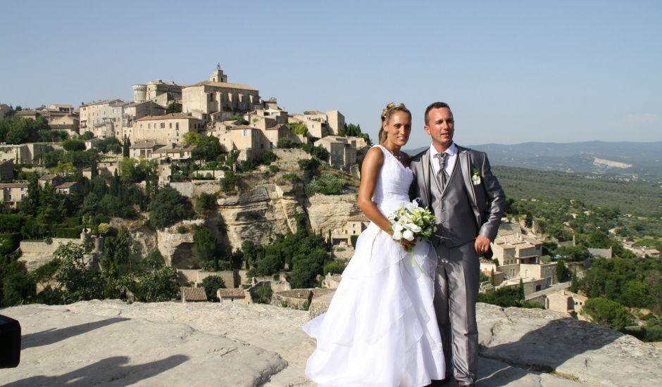 Le mariage de Guillaume et Lucie à Gordes, Vaucluse