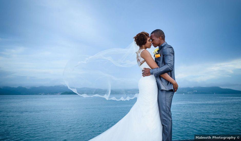 Le mariage de Jonathan et Aurélia à Fort-de-France, Martinique