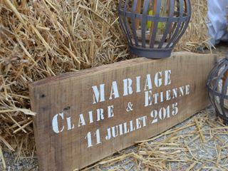 Le mariage de Claire et Etienne 1