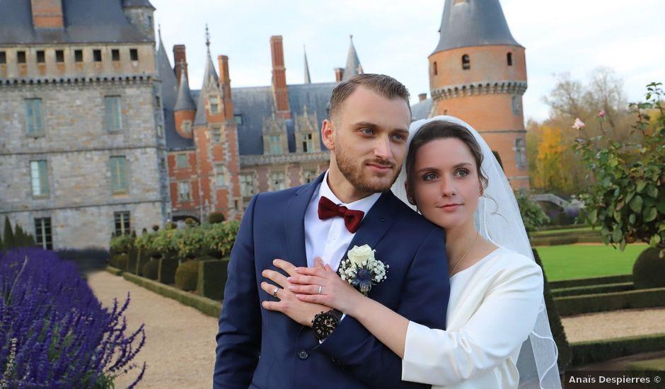 Le mariage de Armend et Alicia à Maintenon, Eure-et-Loir
