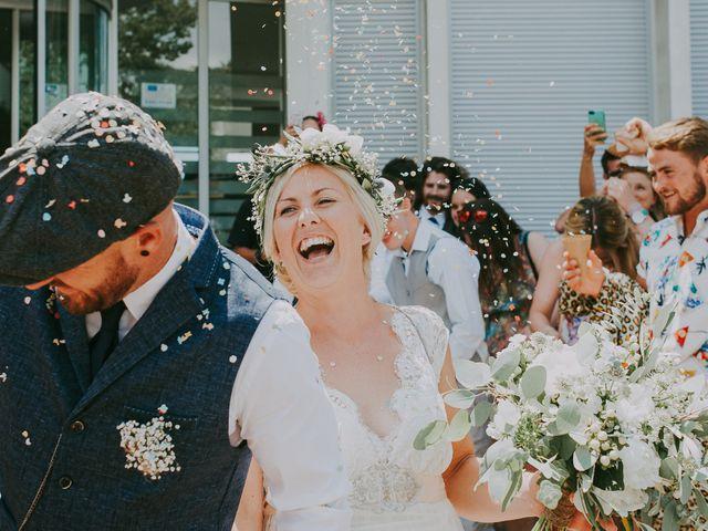 Le mariage de Sean et Laura à Mimizan, Landes 48