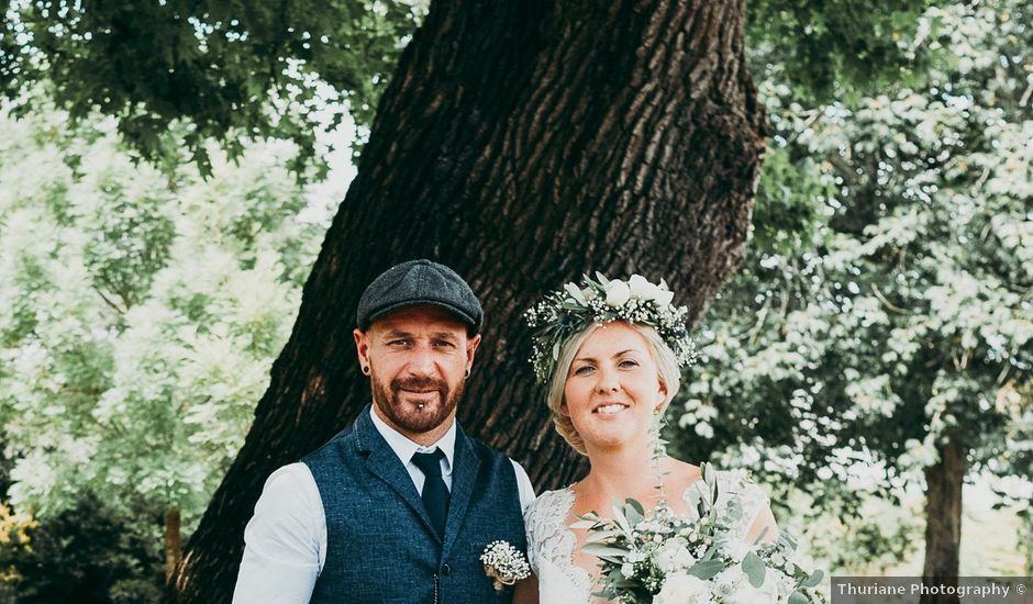 Le mariage de Sean et Laura à Mimizan, Landes