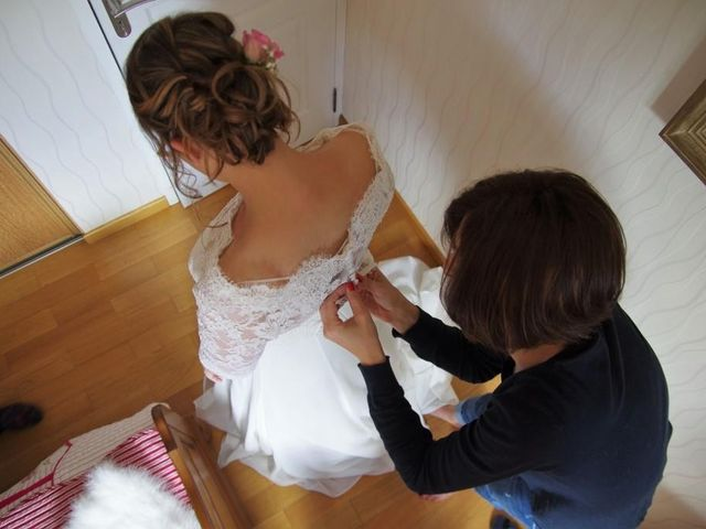 Le mariage de Bruno et Julie à Sainte-Marie-aux-Anglais, Calvados 8
