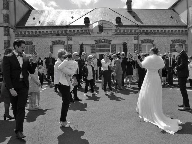 Le mariage de Bruno et Julie à Sainte-Marie-aux-Anglais, Calvados 9