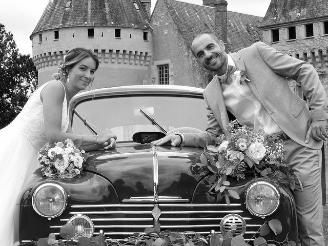 Le mariage de Jerôme et Elodie à Urzy, Nièvre 3