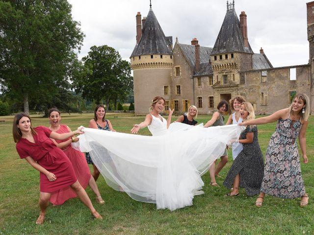 Le mariage de Jerôme et Elodie à Urzy, Nièvre 4