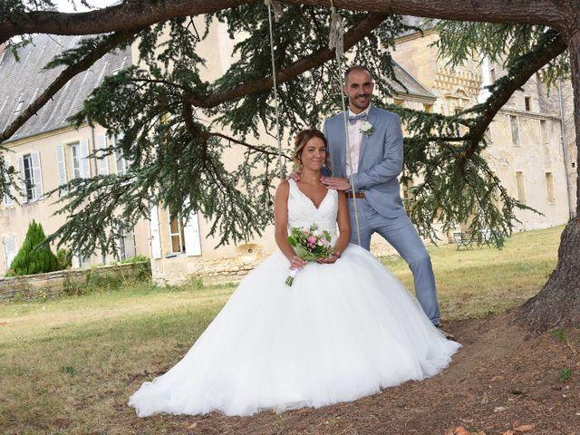 Le mariage de Jerôme et Elodie à Urzy, Nièvre 8