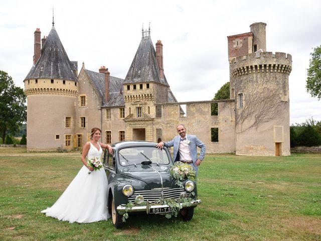 Le mariage de Jerôme et Elodie à Urzy, Nièvre 10