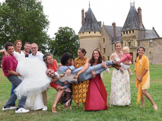 Le mariage de Jerôme et Elodie à Urzy, Nièvre 13
