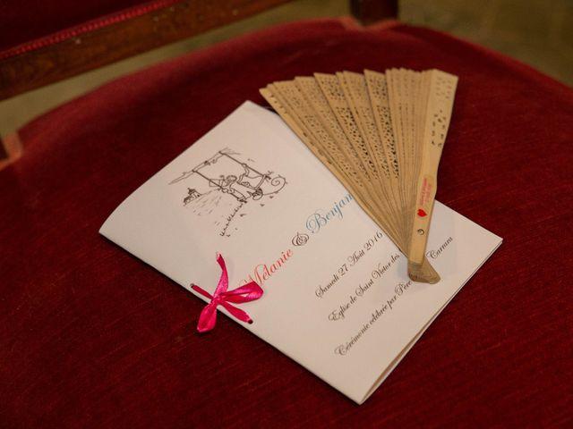 Le mariage de Benjamin et Melanie à Uzès, Gard 17