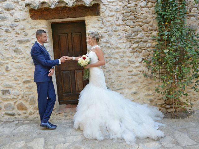 Le mariage de Gael et Elodie à Château-Arnoux Saint-Auban, Alpes-de-Haute-Provence 16