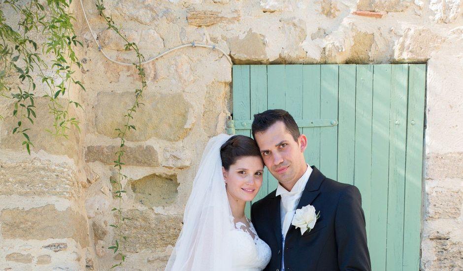 Le mariage de Benjamin et Melanie à Uzès, Gard