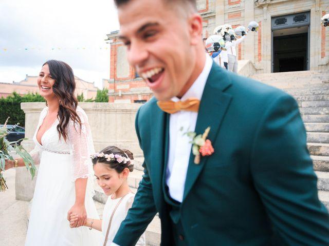 Le mariage de Matthieu et Ines à Lavaur, Tarn 5