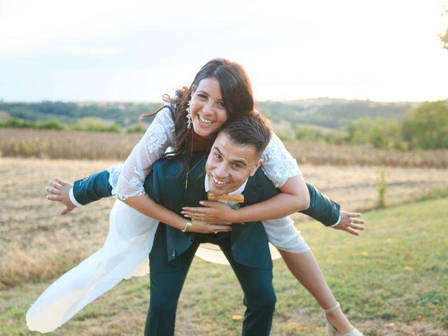 Le mariage de Matthieu et Ines à Lavaur, Tarn 17