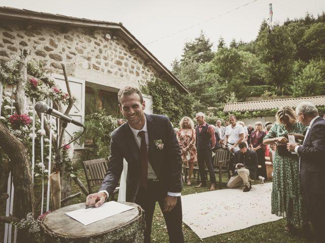Le mariage de Hugo et Flore à Marcols-les-Eaux, Ardèche 80