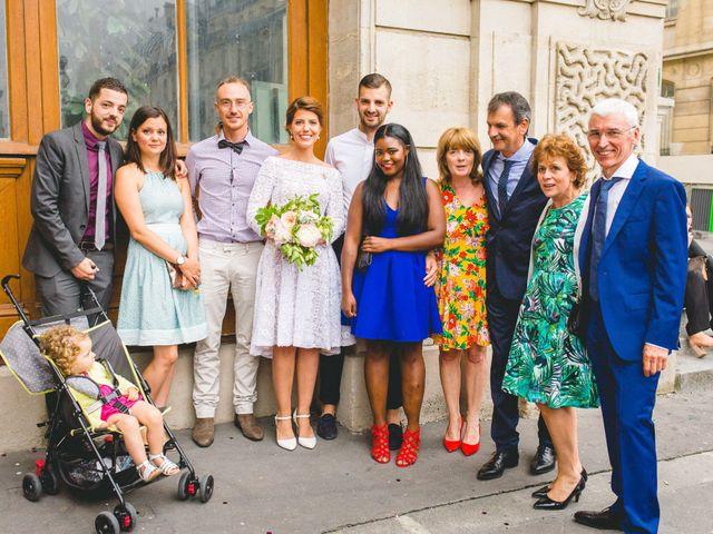 Le mariage de Gaëtan et Roberta à Paris, Paris 5