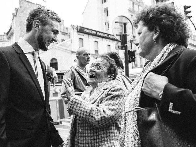 Le mariage de Gaëtan et Roberta à Paris, Paris 6