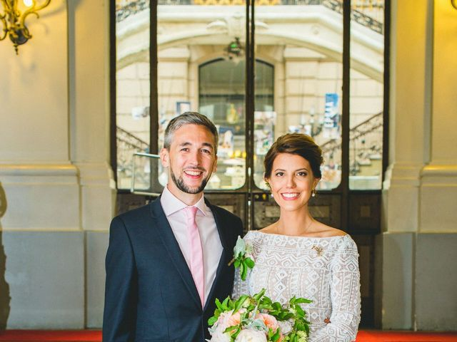 Le mariage de Gaëtan et Roberta à Paris, Paris 8