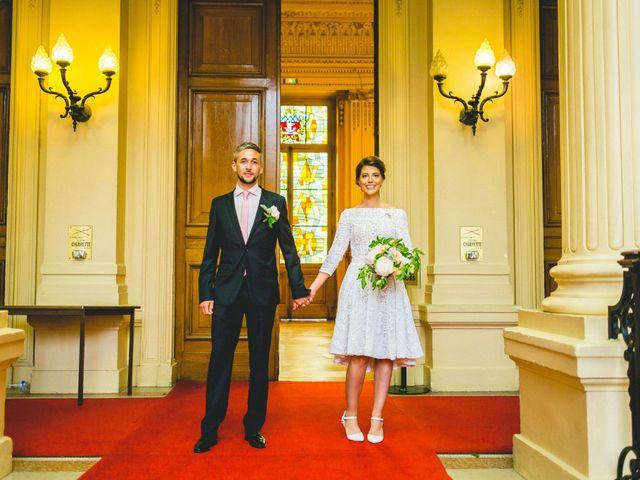 Le mariage de Gaëtan et Roberta à Paris, Paris 9