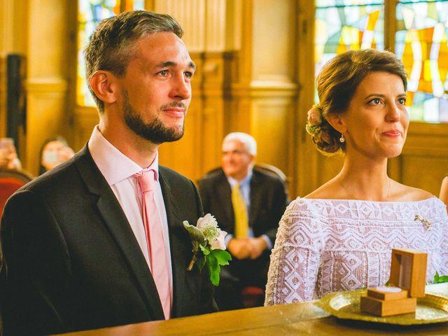 Le mariage de Gaëtan et Roberta à Paris, Paris 14
