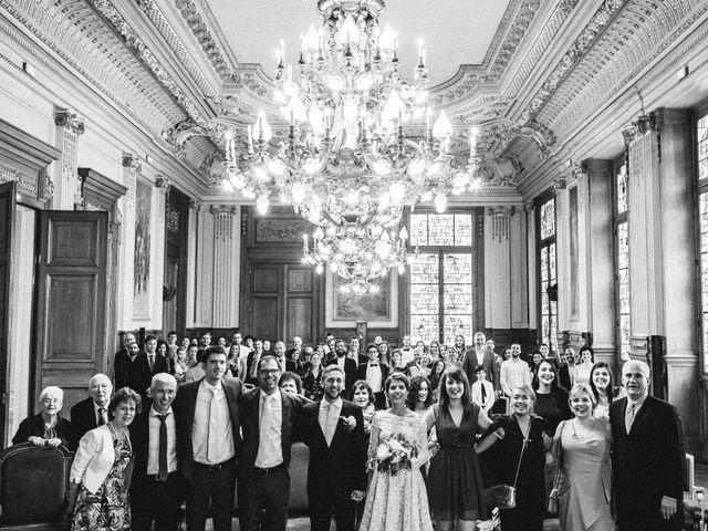 Le mariage de Gaëtan et Roberta à Paris, Paris 17