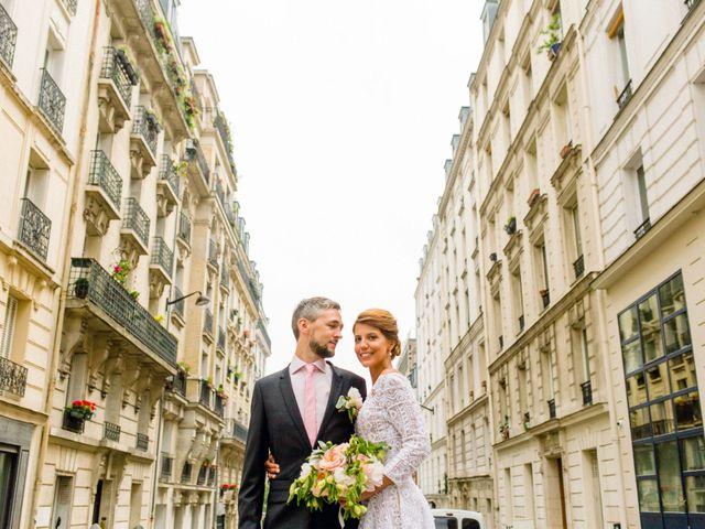 Le mariage de Gaëtan et Roberta à Paris, Paris 22