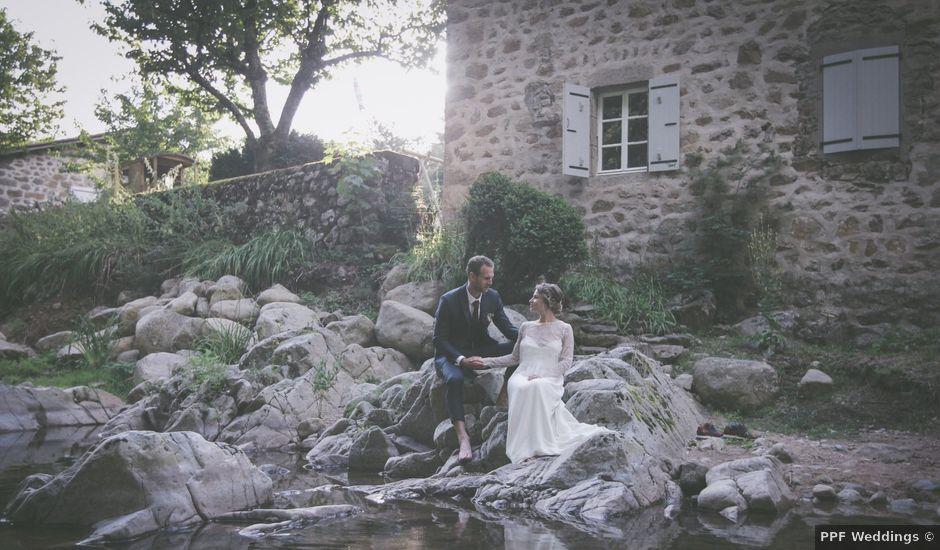 Le mariage de Hugo et Flore à Marcols-les-Eaux, Ardèche