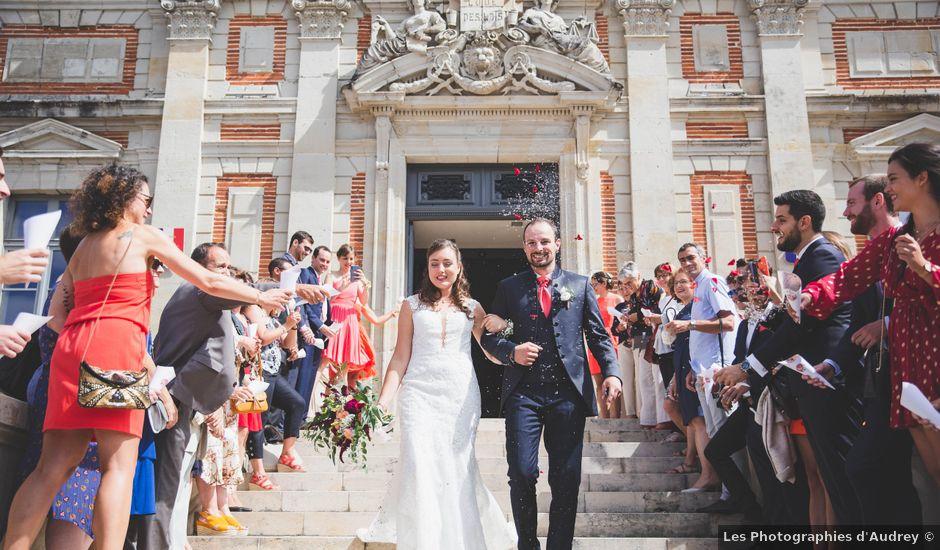 Le mariage de Florent et Lorane à Lavaur, Tarn