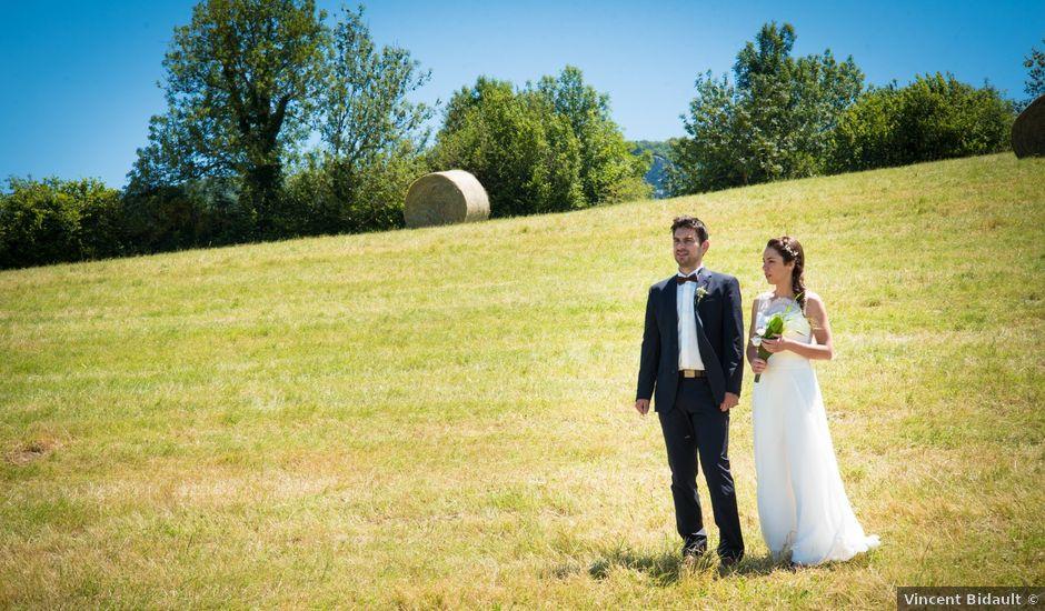 Le mariage de Guilhem et Sophie à La Châtelaine, Jura